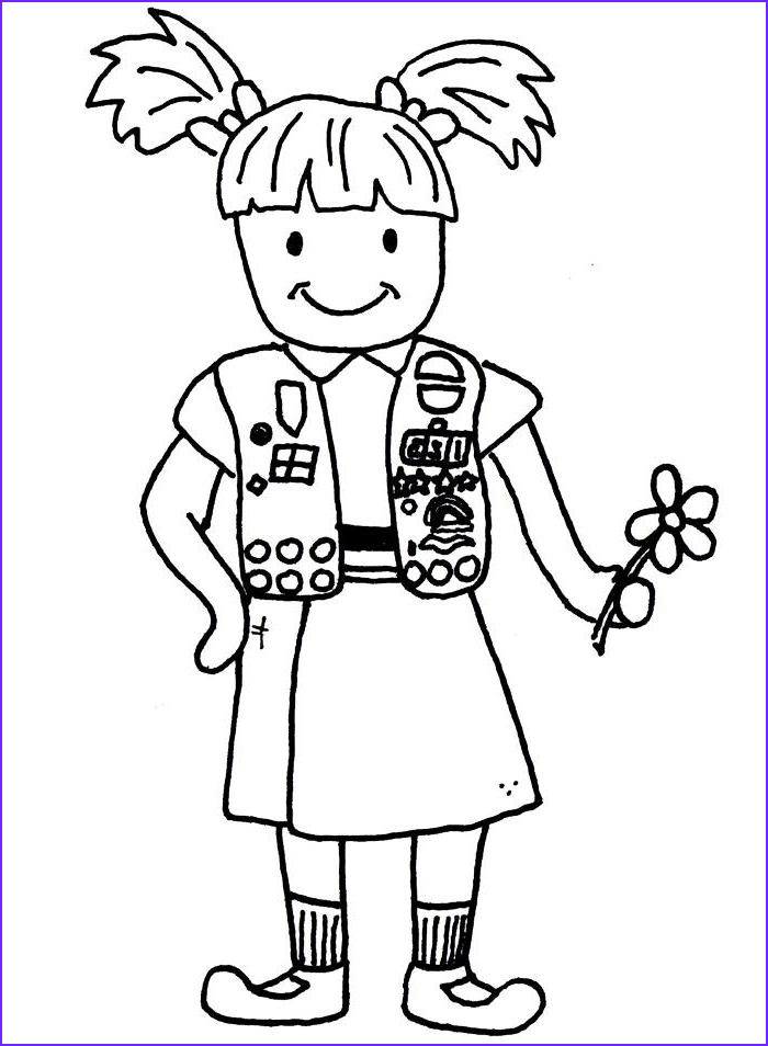 girl scout clip art image