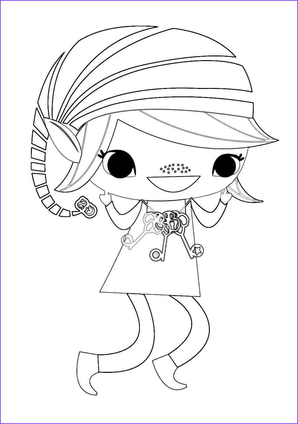 Brownie Girl Scout Coloring Pages Inspirational Stock Brownie Elf Coloring Sheet