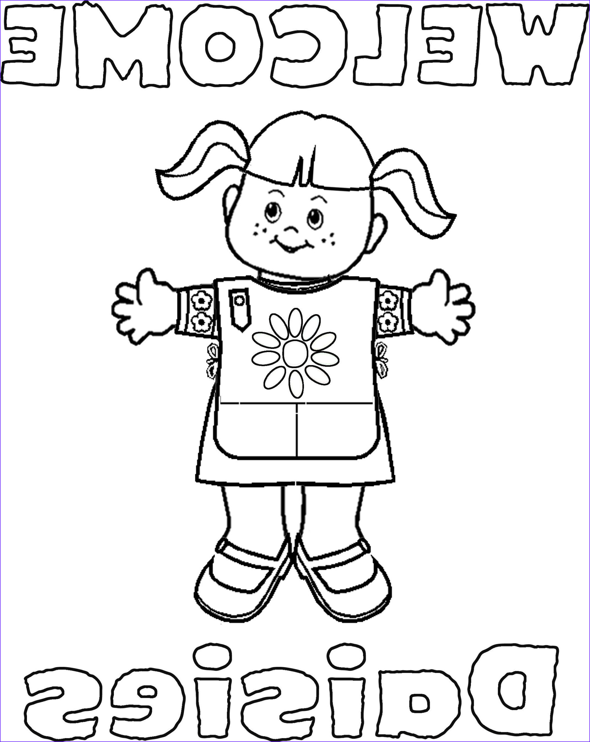 Brownie Girl Scout Coloring Pages Unique Stock Daisy Girl Scout Coloring Pages Daisys