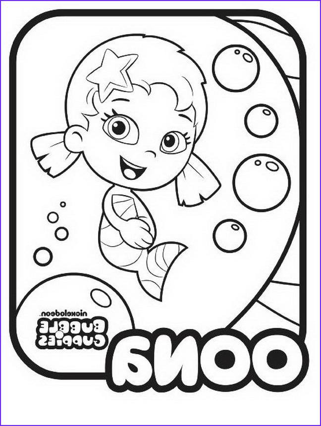Bubble Coloring Cool Photos Bubble Guppies Coloring Pages Best Coloring Pages for Kids