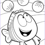 Bubble Coloring New Stock Bubble Guppies Coloring Pages