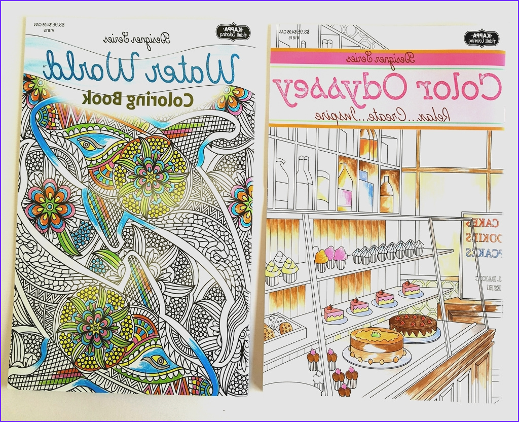 Bulk Coloring Books Cool Gallery wholesale Adult Coloring Book Odyssey Water World Sku
