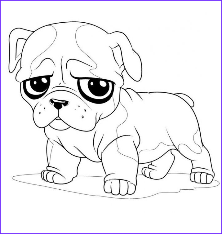 Bull Dog Coloring Pages Beautiful Image French Bulldog Puppy Coloring Page for Kids