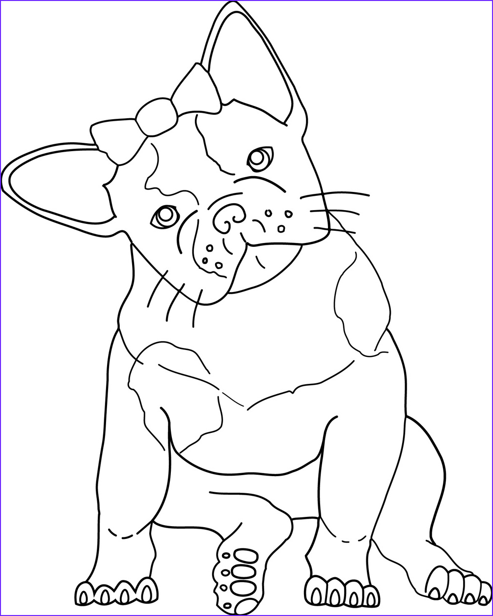 Bull Dog Coloring Pages Beautiful Photos French Bulldog Rescue Network Jv Color Corner