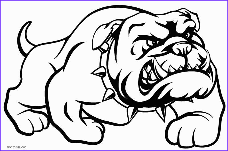 Bull Dog Coloring Pages Beautiful Stock Printable Dog Coloring Pages for Kids