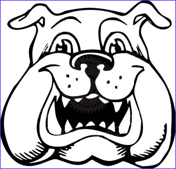 Bull Dog Coloring Pages Best Of Photography Bulldog is Laughing Coloring Pages