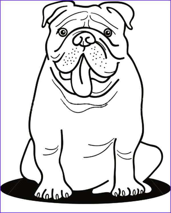 Bull Dog Coloring Pages Luxury Photos Bulldogs Free Coloring Pages