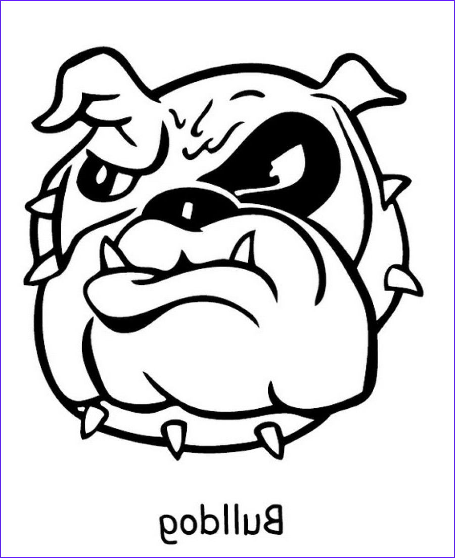 Bull Dog Coloring Pages New Photos Printable Bulldog Coloring Pages Coloring Home