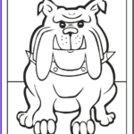 Bulldog Coloring Page Luxury Images 35 Dog Coloring Pages Breeds Bones And Dog Houses