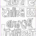 Bullying Coloring Pages Luxury Stock 19 Best Anti Bullying Color Sheets Images On Pinterest