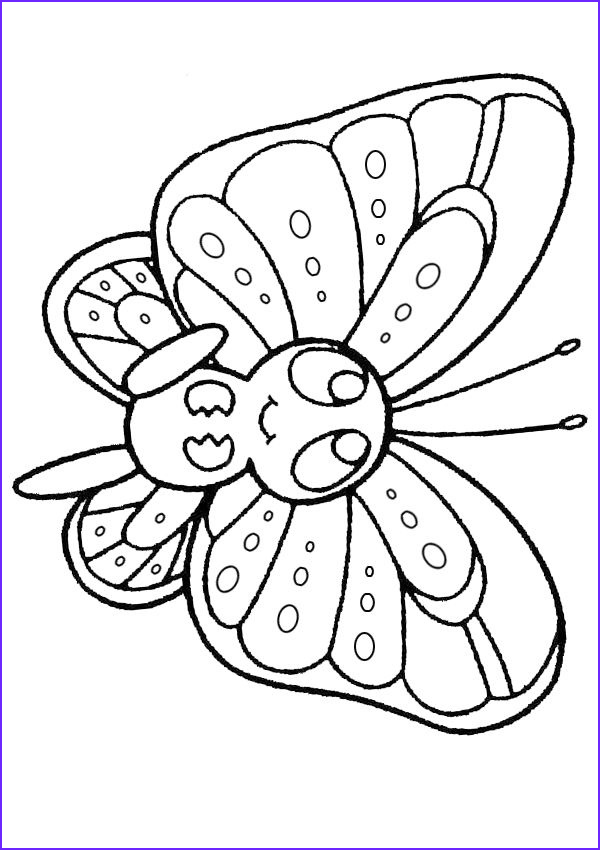 Butterfly Coloring Book Best Of Photos Free Line Printable Kids Colouring Pages Baby