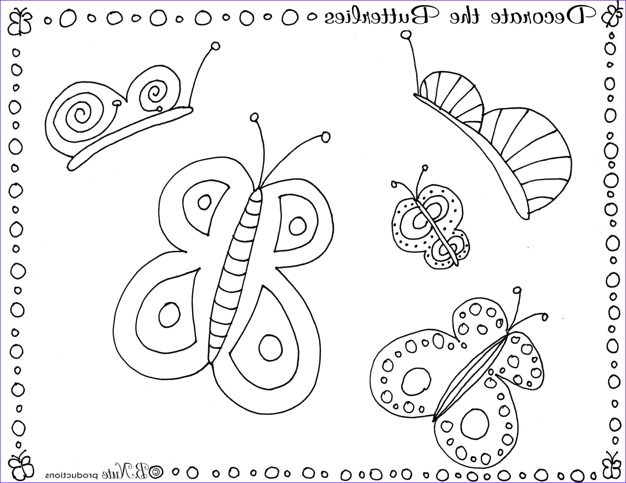 butterfly party game and art ideas