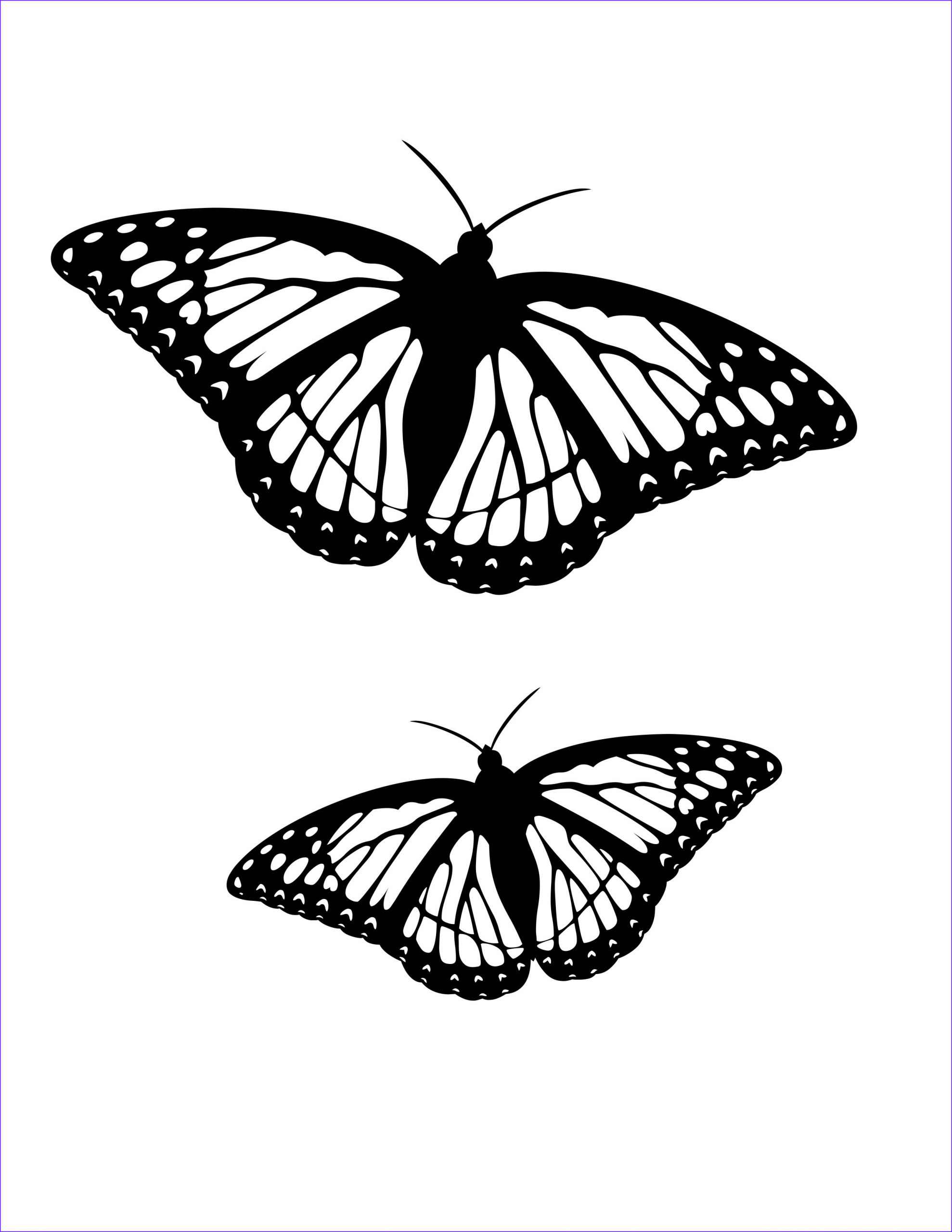 Butterfly Coloring Pages Cool Photos butterfly Coloring Pages