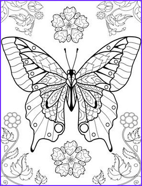 Butterfly Coloring Pages For Adults Best Of Photos World Of Butterflies Coloring Page