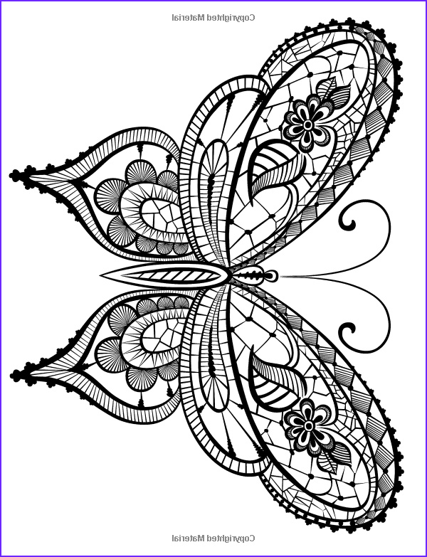 Butterfly Coloring Pages For Adults Inspirational Images Adult Coloring Book Butterflies And Flowers Stress