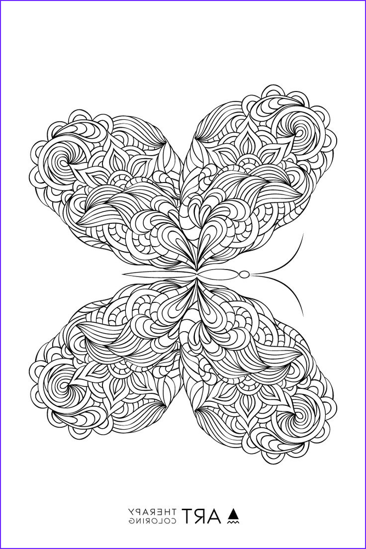 Butterfly Coloring Pages For Adults Unique Photos 8171 Best Images About Paper Art On Pinterest