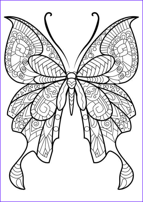 Butterfly Coloring Pages Inspirational Photos 40 Free Printable butterfly Coloring Pages