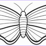 Butterfly Coloring Sheet Awesome Image Printable Butterfly Coloring Pages For Kids
