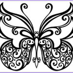 Butterfly Coloring Sheet Beautiful Collection Printable Fun Butterfly Coloring Pages For Kids