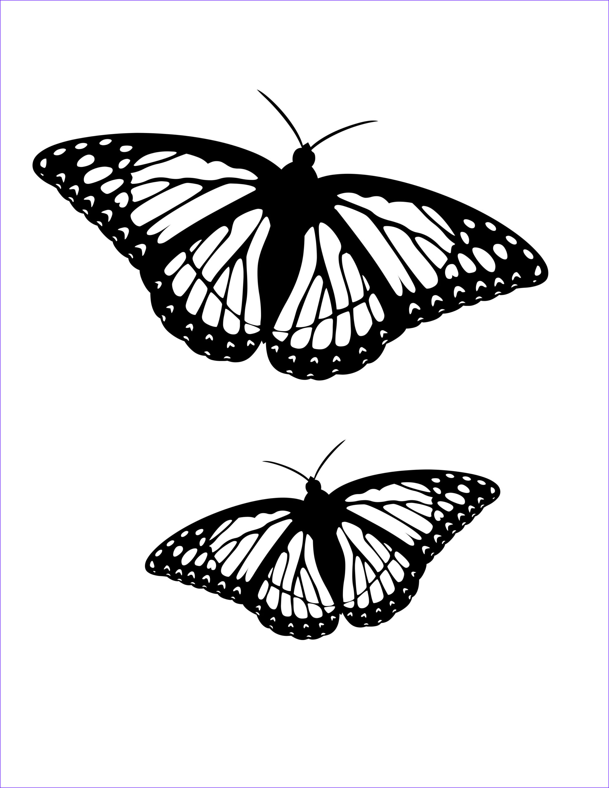 Butterfly Coloring Sheet Unique Image butterfly Coloring Pages