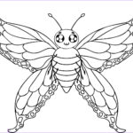 Butterfly Coloring Unique Gallery Free Printable Butterfly Coloring Pages For Kids