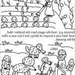 Cain And Abel Coloring Page Inspirational Gallery Church House Collection Blog Cain And Abel Coloring Pages