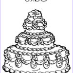 Cake Coloring Awesome Photography Cake Coloring Page Twisty Noodle