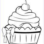 Cake Coloring Pages Luxury Gallery Cupcake Coloring Contest
