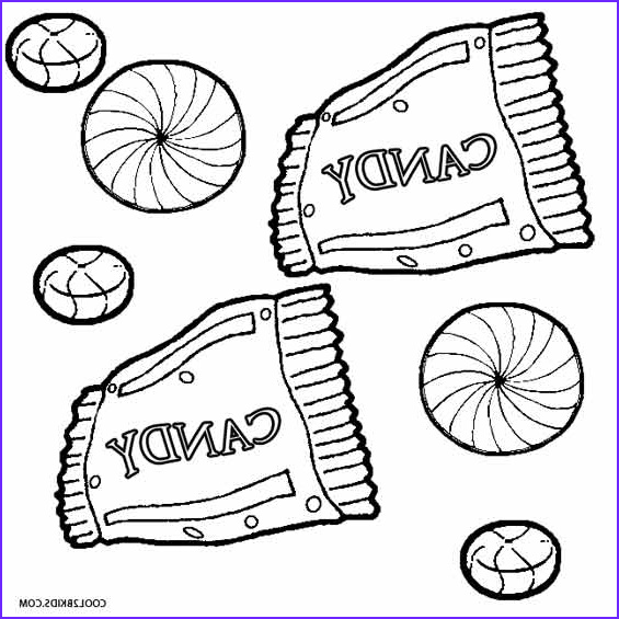 Candy Coloring Beautiful Photos Printable Candy Coloring Pages for Kids
