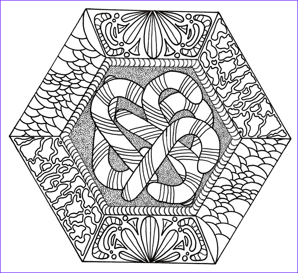 Candy Coloring Best Of Gallery Candy Canes Galore Adult Coloring Page