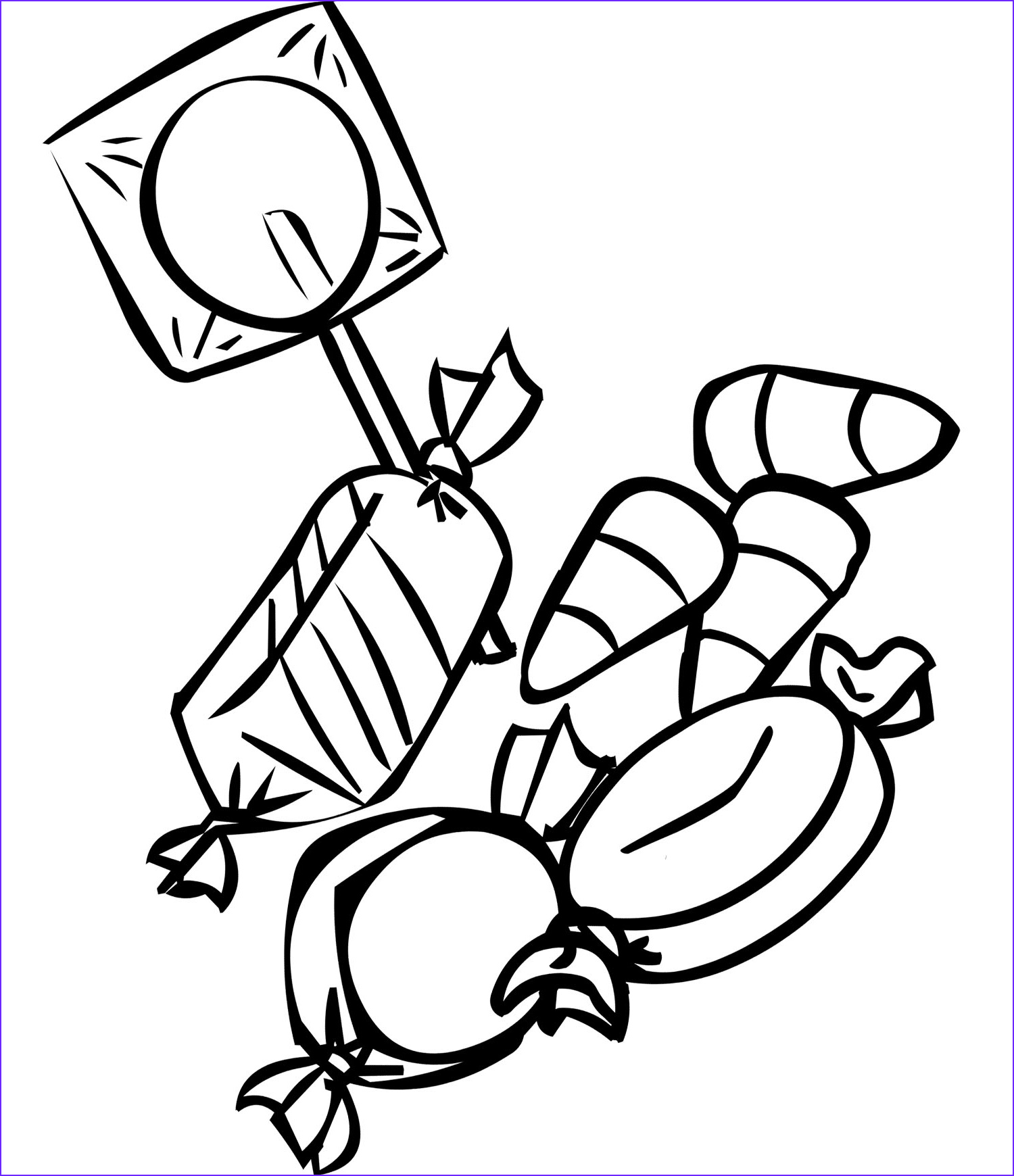 Candy Coloring Inspirational Images Free Printable Candy Coloring Pages for Kids