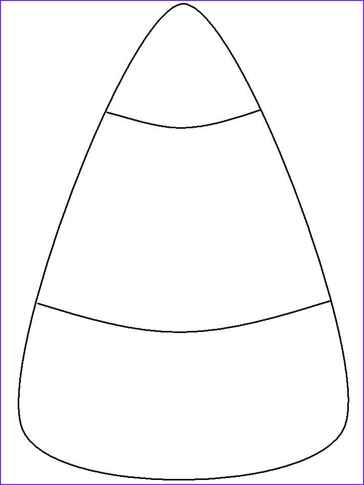 Candy Corn Coloring Page Awesome Photos Candy Corn Template Holiday Seasonal Art