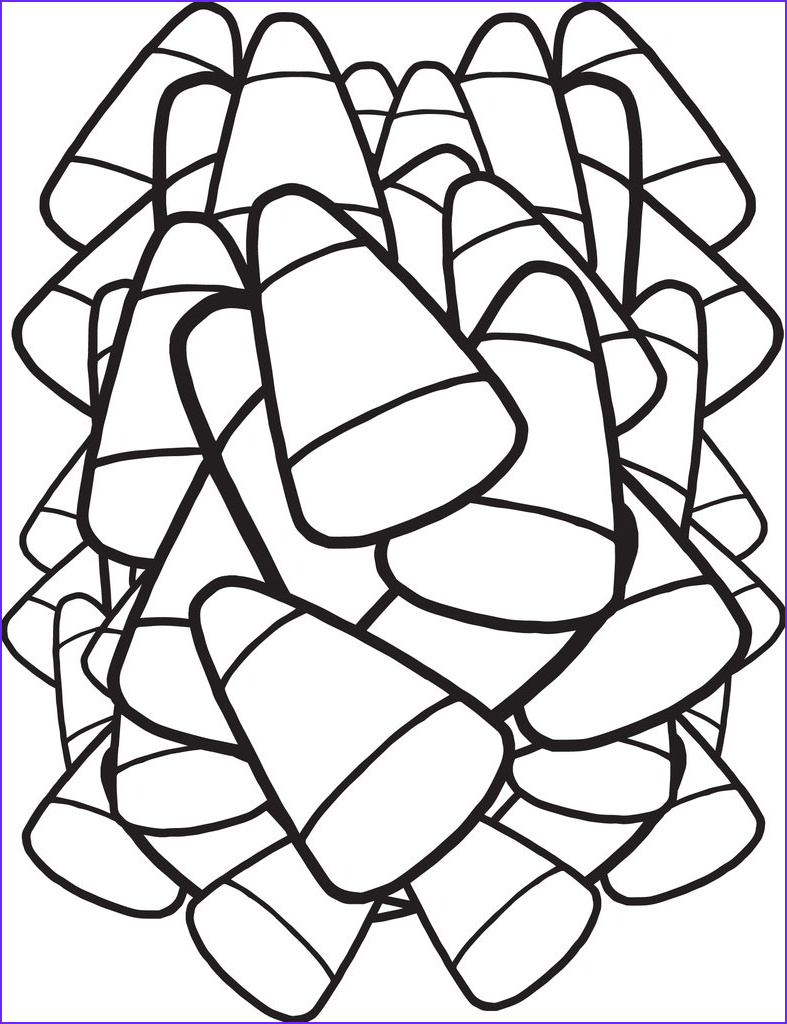 Candy Corn Coloring Page Beautiful Photos Free Printable Candy Corn Coloring Page for Kids – Supplyme