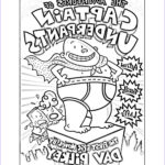 Captain Underpants Coloring Luxury Images Book Cover Coloring Page Captain Underpants