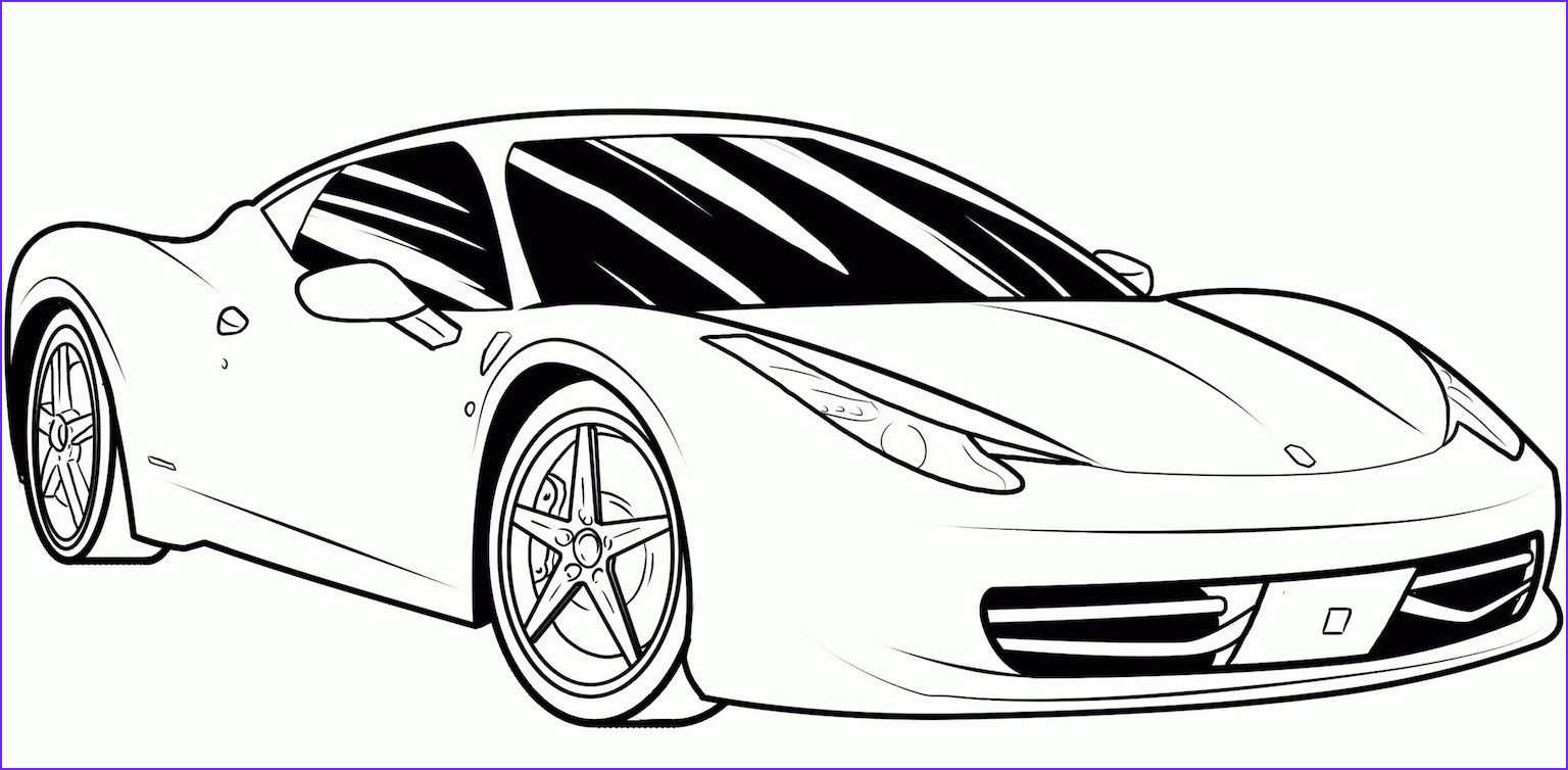 Car Coloring Book Best Of Gallery Sports Car Coloring Pages Free and Printable