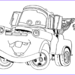 Cars 2 Coloring Pages New Photography 6 Free Printable Disney Cars Tow Mater Coloring Pages