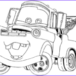 Cars The Movie Coloring Pages Beautiful Photography How To Draw Tow Mater From Disney Cars Movie