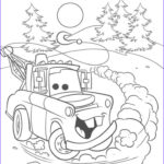 Cars The Movie Coloring Pages Elegant Photography Tow Mater Car 2 Movies Coloring Page Print Out