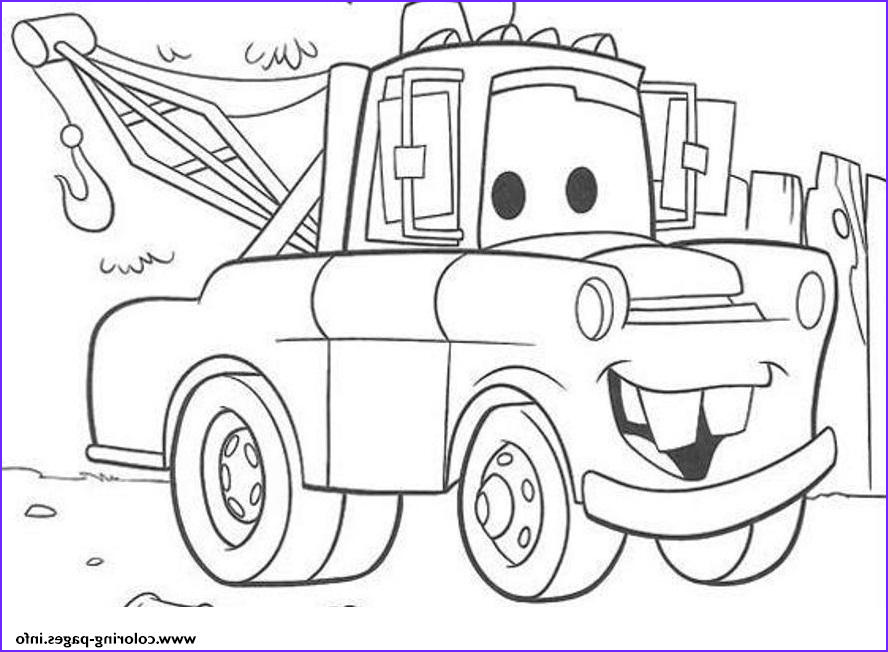 disney cars mater printable coloring pages book