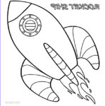Cartoon Coloring Awesome Image Printable Rocket Ship Coloring Pages For Kids