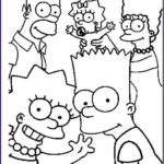 Cartoon Coloring Luxury Image the Simpsons Coloring Pages Download and Print the