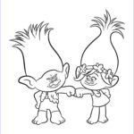 Cartoon Coloring New Image Trolls Coloring Pages To And Print For Free