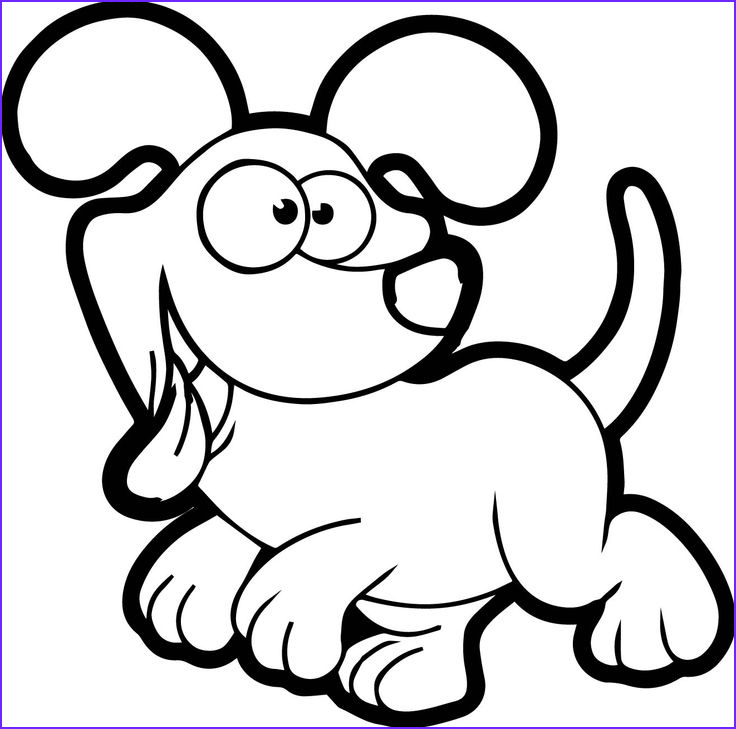 Cartoons Coloring Book Best Of Collection Awesome Chien Cartoon Dog Coloring Page Mcoloring