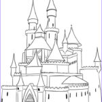 Castle Coloring Sheet Awesome Photos Simple Castle Coloring Pages