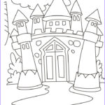 Castle Coloring Sheet Cool Gallery Castles Coloring Pages