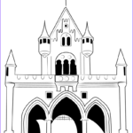 Castle Coloring Sheet Cool Photos Disney Castle Drawing At Getdrawings