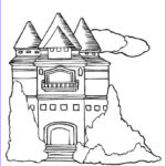 Castle Coloring Sheet Inspirational Image Free Printable Castle Coloring Pages For Kids
