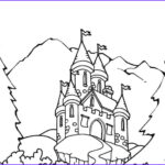Castle Coloring Sheet Luxury Photos Printable Castle Coloring Pages For Kids