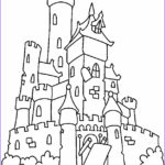 Castle Coloring Sheet New Images Free Printable Castle Coloring Pages For Kids