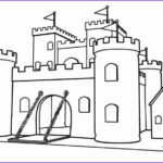 Castle Coloring Sheet New Stock Printable Castle Coloring Pages For Kids